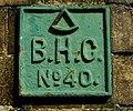 Plaque, Thompson Graving Dock Pump House, Belfast - geograph.org.uk - 808562.jpg