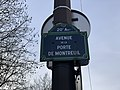 Plaque Avenue Porte Montreuil - Paris XX (FR75) - 2021-01-26 - 2.jpg
