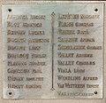 Plaque face guerre 14-18 Monument aux morts de Messy.jpg