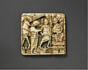 Plaque with Christ Before the High Priest Caiaphas MET DT228493.jpg