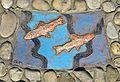 """Plastik """"Fische in der Liesing"""" 09 by Kollegium Kalksburg.jpg"""