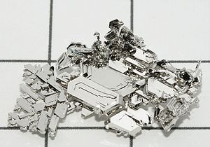 Metallic color - Platinum crystals