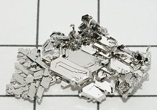 Platinum Chemical element with atomic number 78
