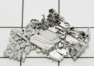 Platinum Chemical element, symbol Pt and atomic number 78