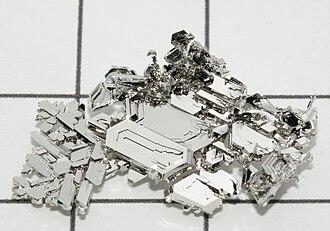 Metallic color - Platinum crystals