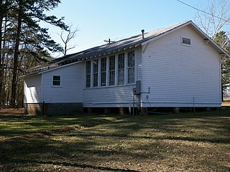 National Register of Historic Places listings in Cass County, Texas - Image: Pleasant Hill, Texas Rosenwald School
