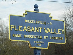 Official logo of Pleasant Valley