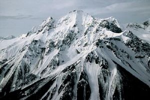 Volcanology of Canada - Plinth Peak of the Mount Meager massif in southwestern British Columbia is the source for a large-scale Plinian eruption that occurred 2,350 years ago, sending ash as far as Alberta