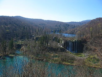 Plitvice Lakes National Park - Galovac waterfall