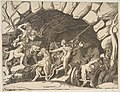 Pluto riding a chariot descending into Hell, from the 'Division of the Universe' MET DP812463.jpg