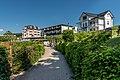 Poertschach Johannes-Brahms-Promenade mit Villa Sole Prueller Hotel Astoria 27052017 8923.jpg