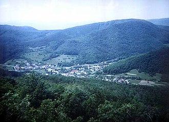 Dolná Ves - Dolná Ves as seen from Ďurova Skala