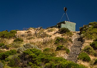 Cape Peron - A trig station on top of a former coastal defence bunker