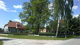 Łęg, Piaseczno County - Image: Poland. Gmina Konstancin Jeziorna. Łęg 002