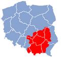 Poland Lesser Poland map.png