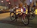 Police bicycle in Dongguan 2013-02-03.jpg