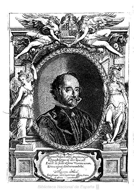 Juan de Solorzano Pereira, member of the Council of the Indies. Politica indianapor Iuan de Solorzano Pereira.jpg
