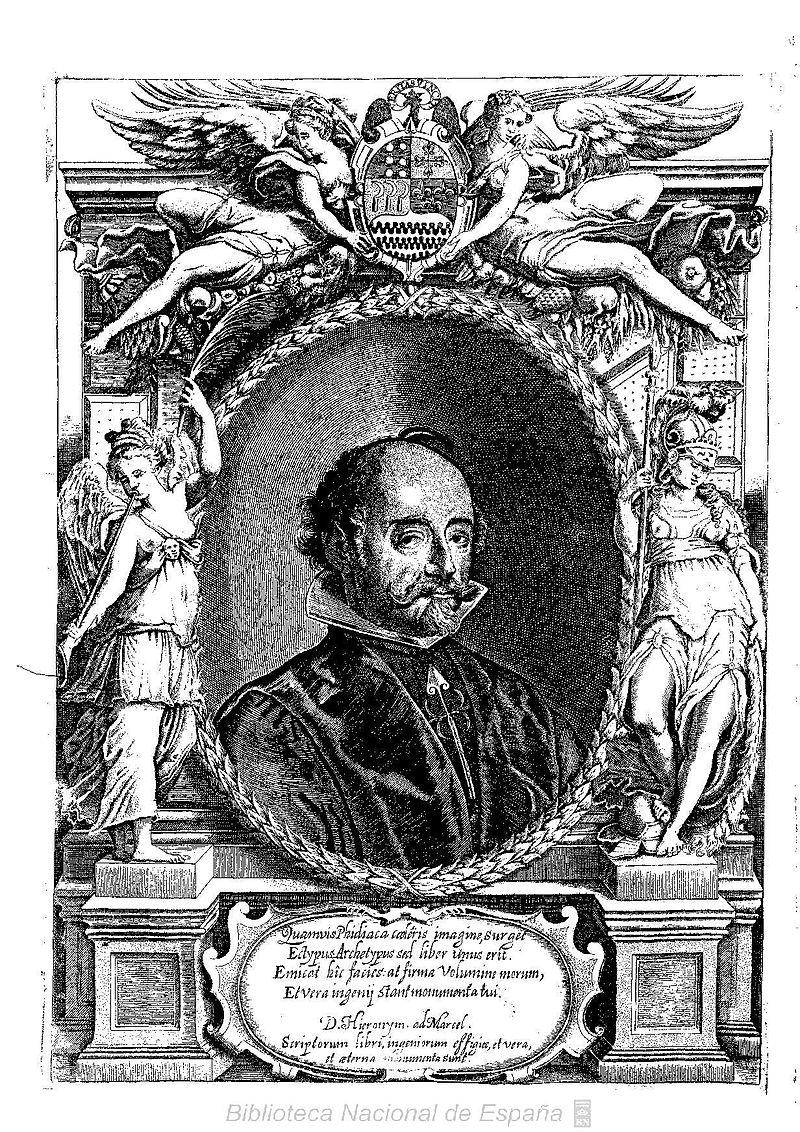 Juan de Solórzano Pereira (1639) Retrato publicado en su obra Indiarum Iure