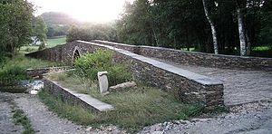 Vilalba - Image: Ponte Saa Vilalba