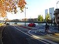 Port de Passy accès piste cyclable vers amont sous le RER C.jpg