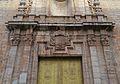 Portada barroca de l'església de santa Maria de Sagunt, detall.JPG