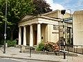 Porticoed entrance to Roman Legionary Museum, Caerleon - geograph.org.uk - 1714225.jpg