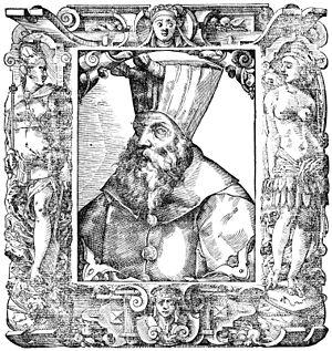 Al-Ashraf Qansuh Al-Ghuri - Portrait of Al-Ashraf Qansuh al-Ghawri, by Paolo Giovio (1483-1552).