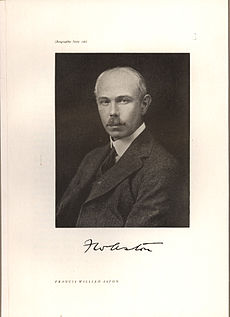 Francis William Aston