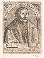 Portret van Pietro Andrea Mattioli Petrus Andreas Matthiolus Med. (titel op object) Serie portretten van vijftiende- en zestiende-eeuwse geleerden (serietitel), RP-P-1910-61.jpg