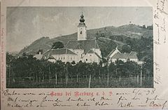Postcard of Kamnica 1898.jpg