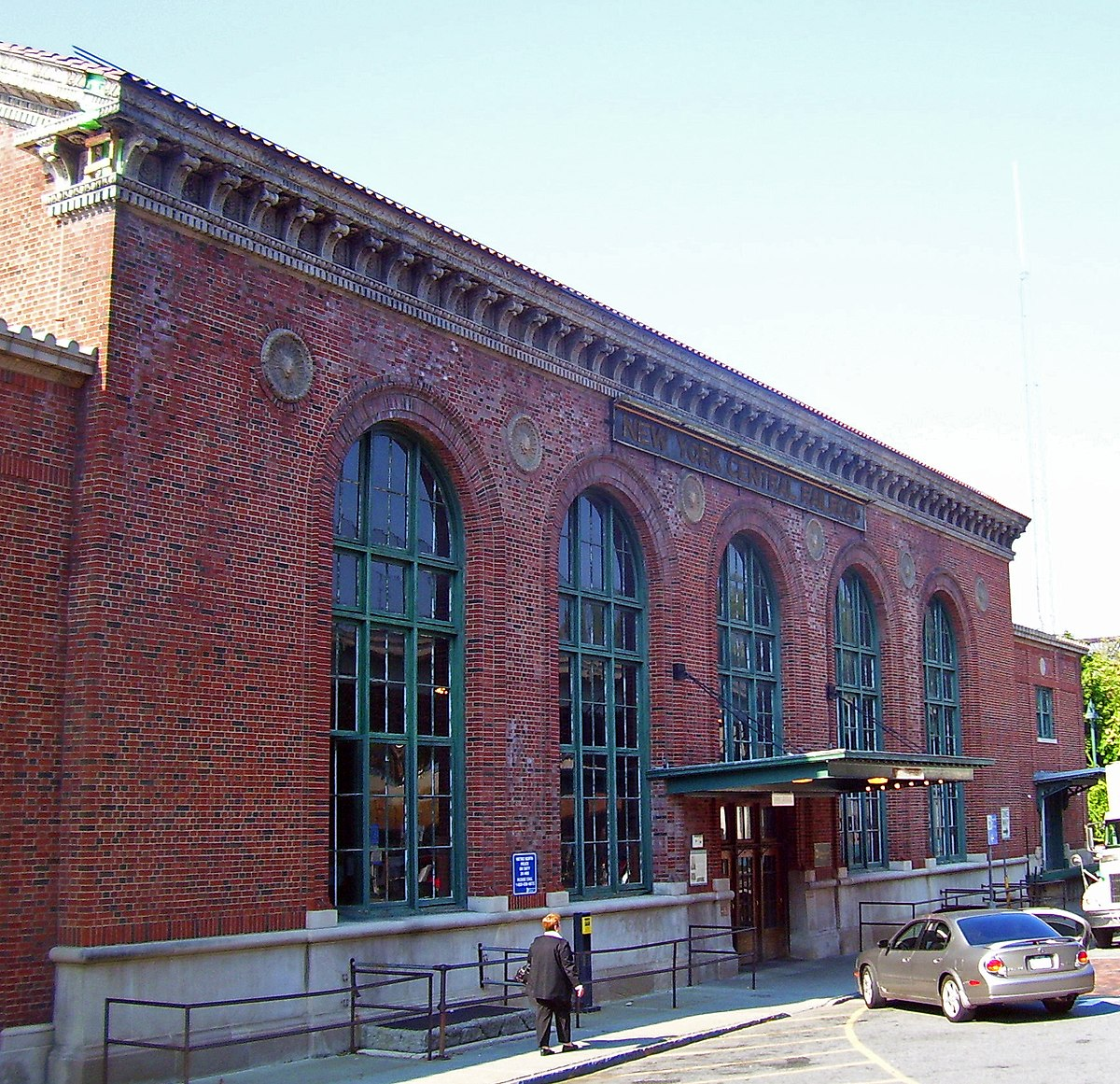 Exterior: Poughkeepsie Station