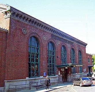 Poughkeepsie station - Image: Poughkeepsie train station exterior