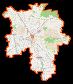 Mapa lokalizacyjna powiatu inowrocławskiego