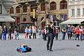 Prague Praha 2014 Holmstad - gateartister - street preformancers dancing - flott.JPG