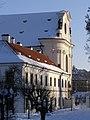 Praha, Břevnovský klášter, západ 01.jpg