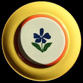 Vista Alegre (company) - Vista Alegre plate, made in Brazil