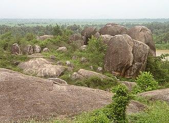 Amudalavalasa - Prehistoric Rock shelters at Chittivalasa village near Amudalavalasa