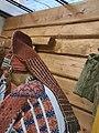 Preparing Erzya bride's dowry. Pango - Headdress 05.jpg