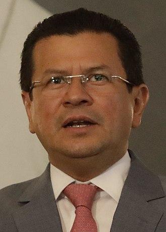 2019 Salvadoran presidential election - Image: Presentación de Cartas Credenciales de Embajadores Concurrentes (cropped)