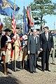 President Ronald Reagan and President Francois Mitterrand of France at the Battle of Yorktown Bicentennial celebration in Virginia.jpg