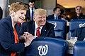 President Trump at the World Series Game (48975047767).jpg