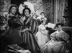 Le sorelle Bennet nella versione cinematografica del 1940