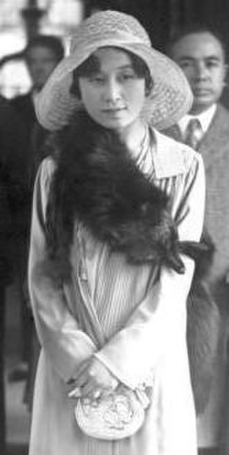 Kikuko, Princess Takamatsu - Princess Takamatsu in Berlin, August 1930