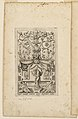"Print, Grotesque with Deities. Plate 01 ""Saturne"" 2nd state, ca. 1540 (CH 18602935).jpg"