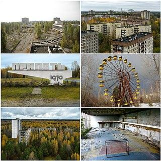 Pripyat Ghost city in Kyiv Oblast, Ukraine