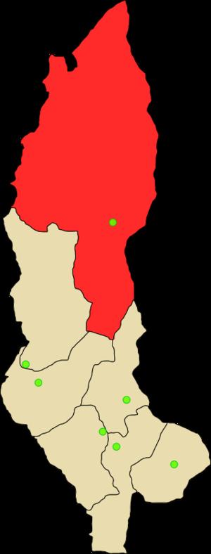 Condorcanqui Province - Image: Provincia de Condorcanqui