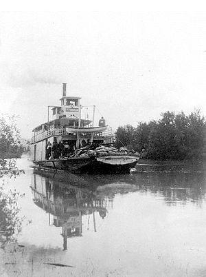 Ptarmigan (sternwheeler) - Image: Ptarmigan (sternwheeler) on Columbia River ca 1905