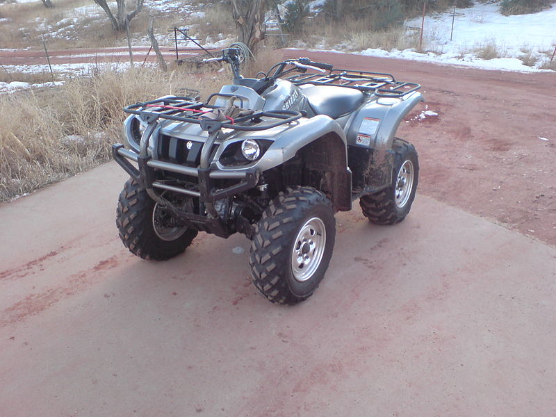 Yamaha Grizzly  Reas Rack