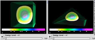 Wave function - Image: Quantum dot