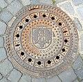 Quedlinburg Manhole mit Wappen.jpg